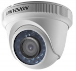 Hikvision TK 2MPx, Dome, DS-2CE56D0T-IRPF, 3.6mm, 82,2° 2747